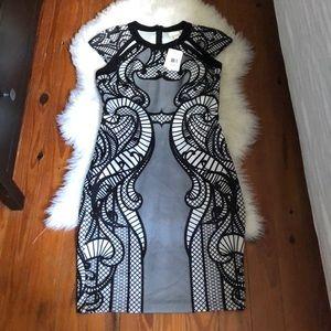 ECI New York Stretch Midi Dress
